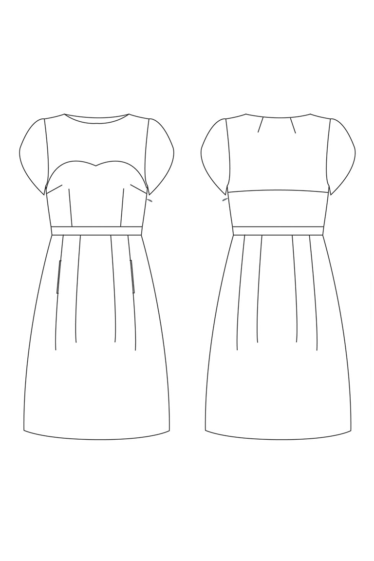 The Macaron sewing pattern, from Seamwork
