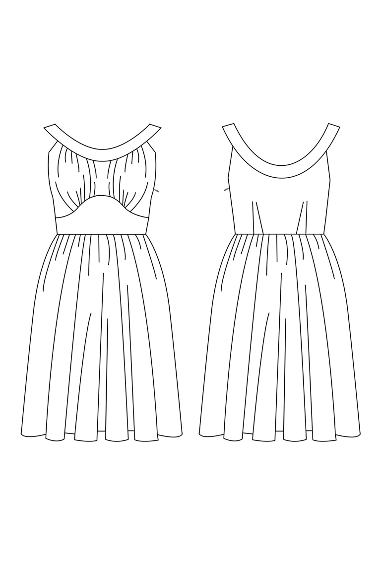 The Chantilly sewing pattern, from Seamwork