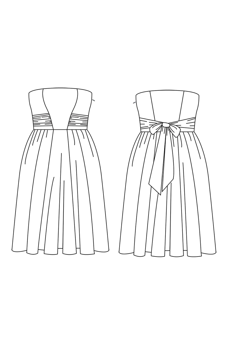 The Eclair sewing pattern, from Seamwork