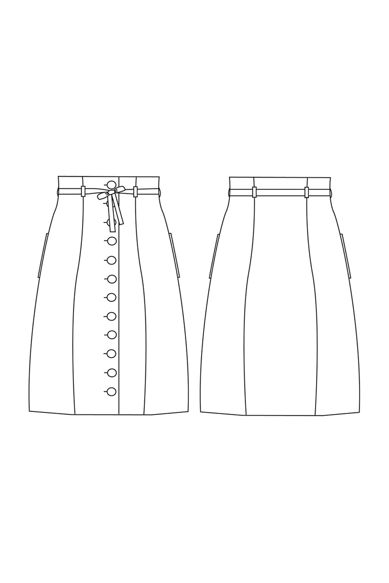 The Beignet sewing pattern, from Seamwork
