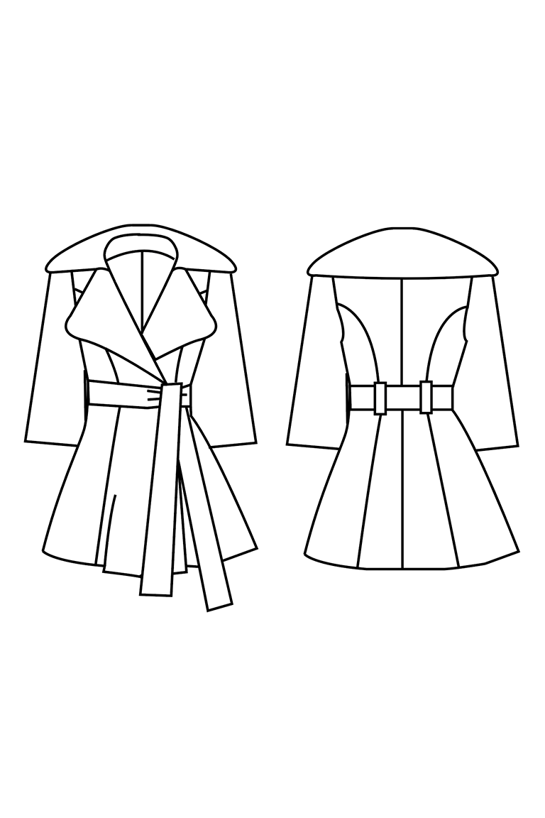 The Lady Grey sewing pattern, from Seamwork