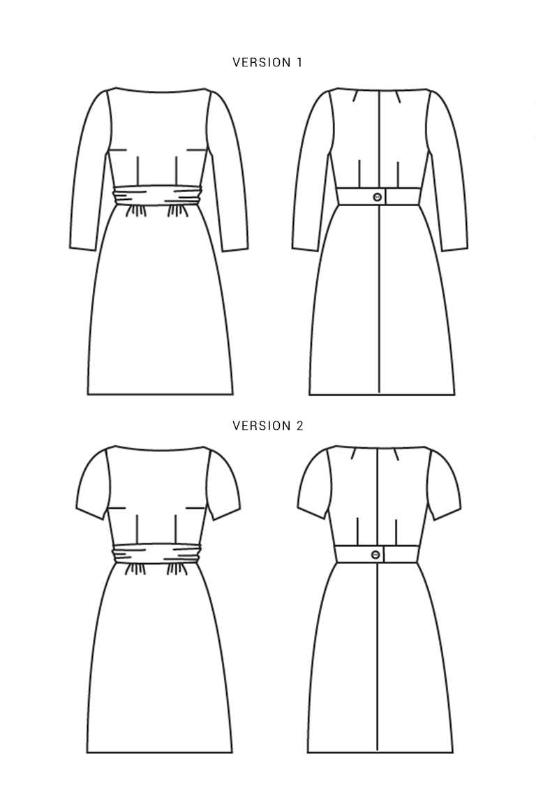 The Peony sewing pattern, from Seamwork