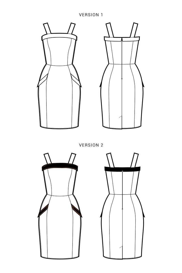 The Lily sewing pattern, from Seamwork