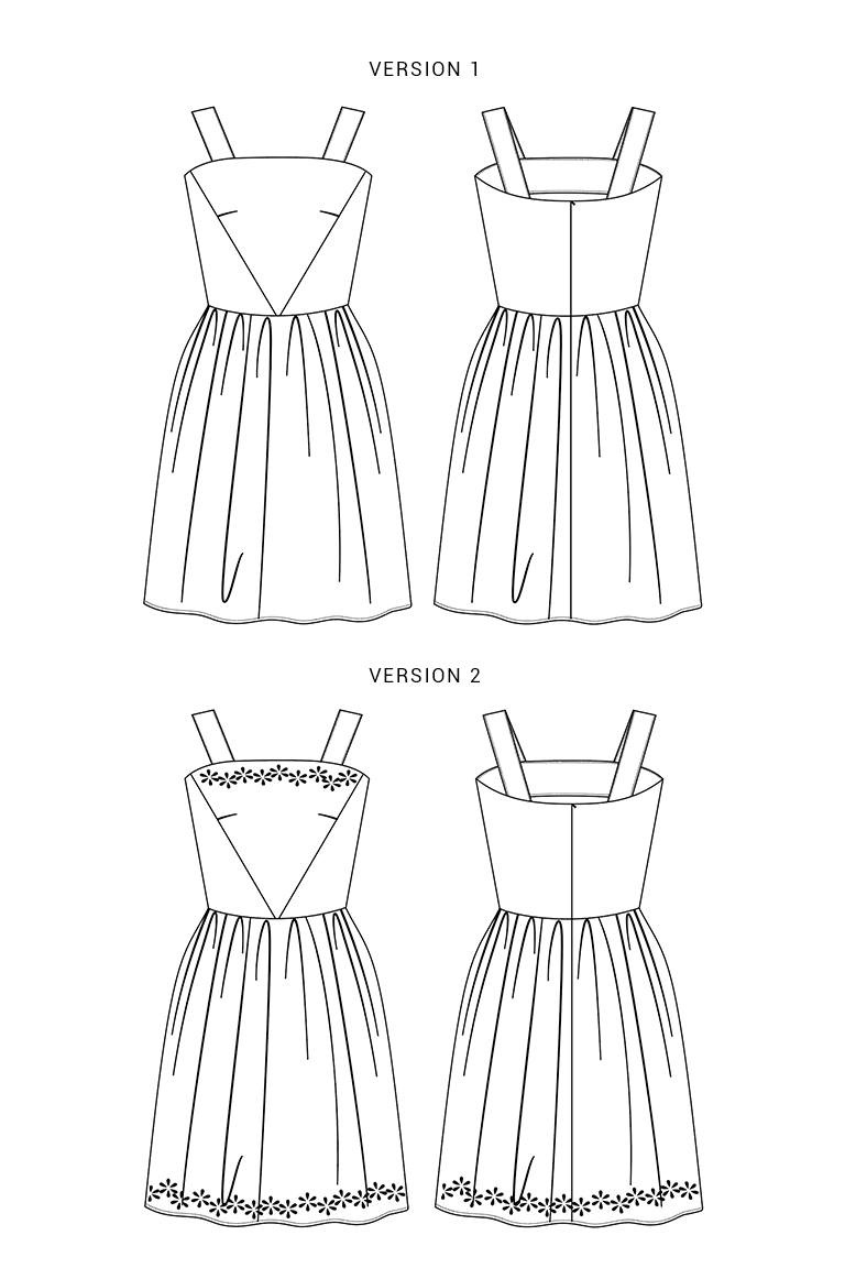 The Hazel sewing pattern, from Seamwork