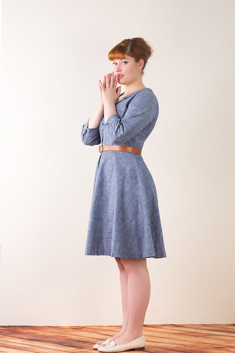 The Hawthorn sewing pattern, from Seamwork