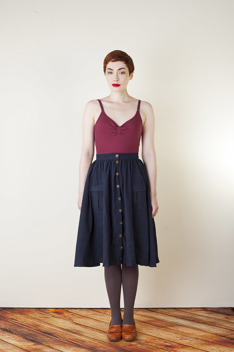 The Zinnia sewing pattern, from Seamwork