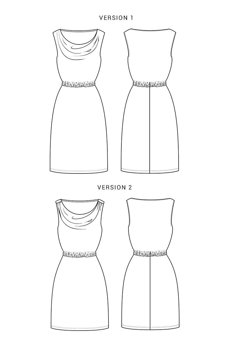 The Myrtle sewing pattern, from Seamwork