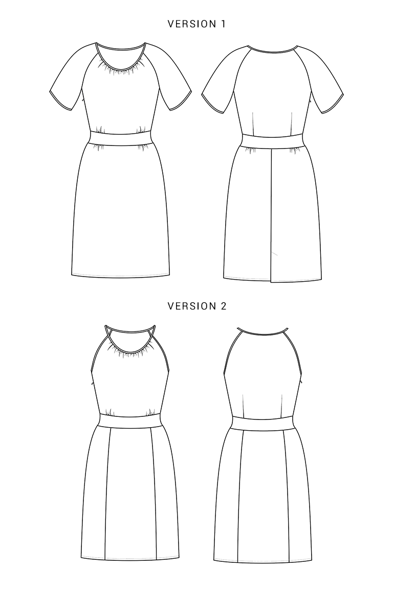 The Dahlia sewing pattern, from Seamwork