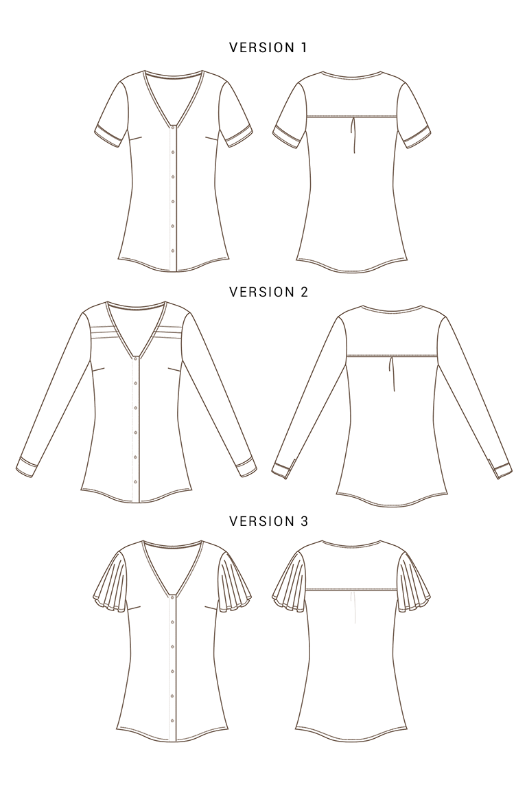 The Aster sewing pattern, from Seamwork