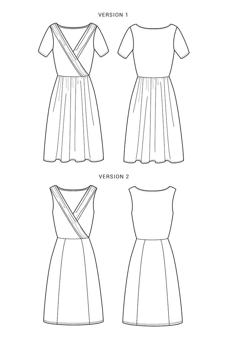 The Wren sewing pattern, from Seamwork