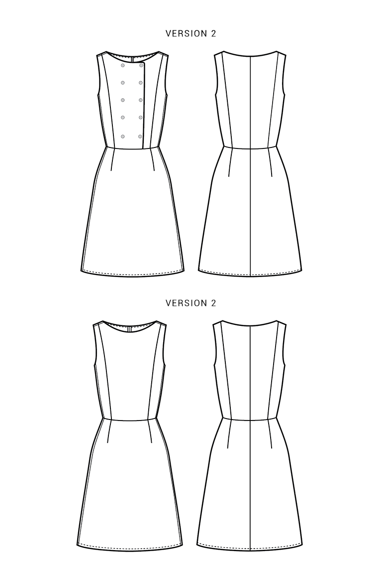 The Phoebe sewing pattern, from Seamwork