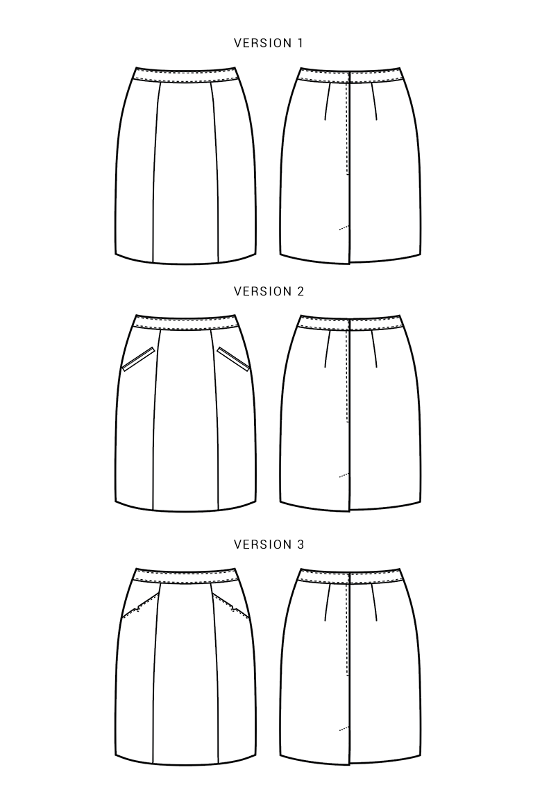 The Selene sewing pattern, from Seamwork