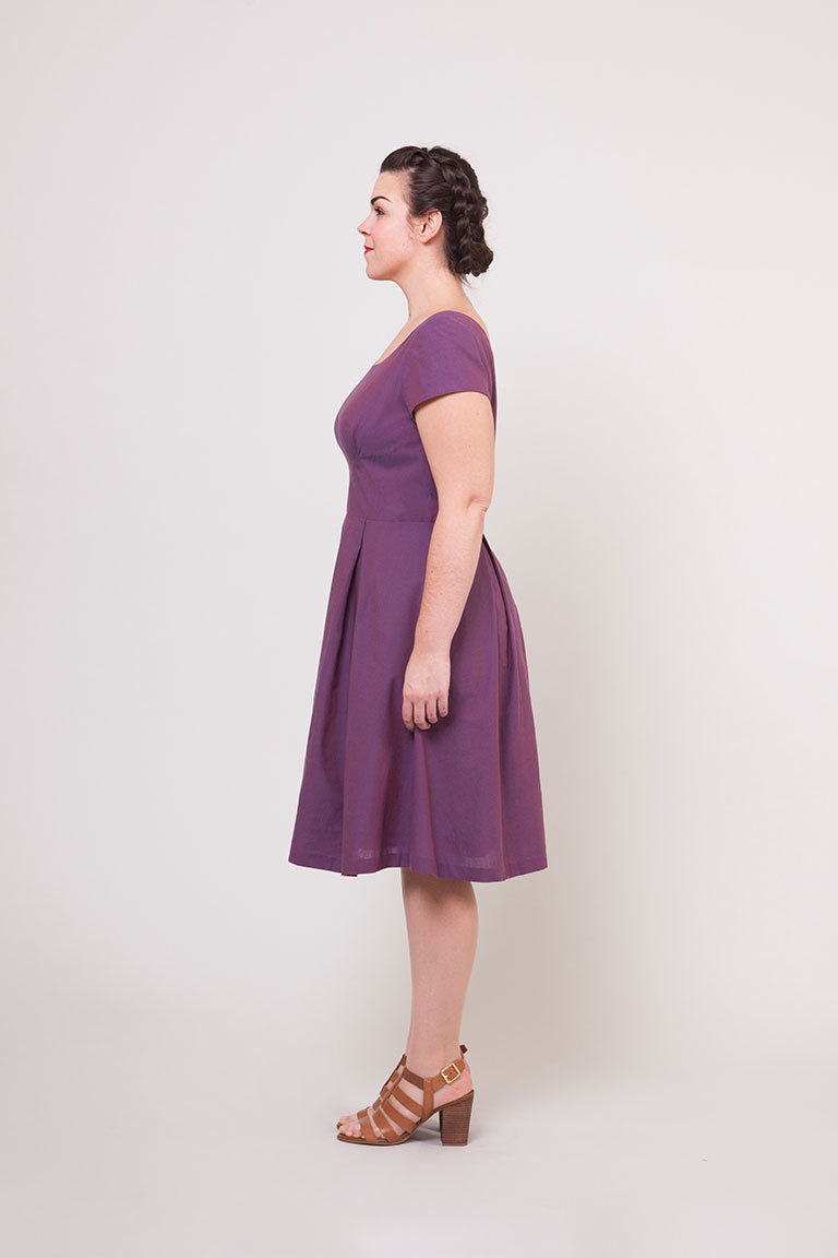 The Rue sewing pattern, from Seamwork