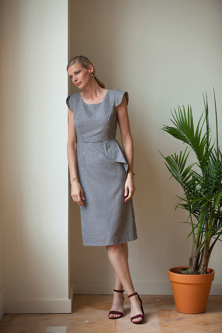 The Claudette sewing pattern, from Seamwork