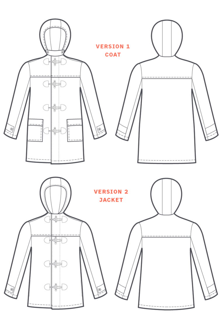 The Albion sewing pattern, from Seamwork