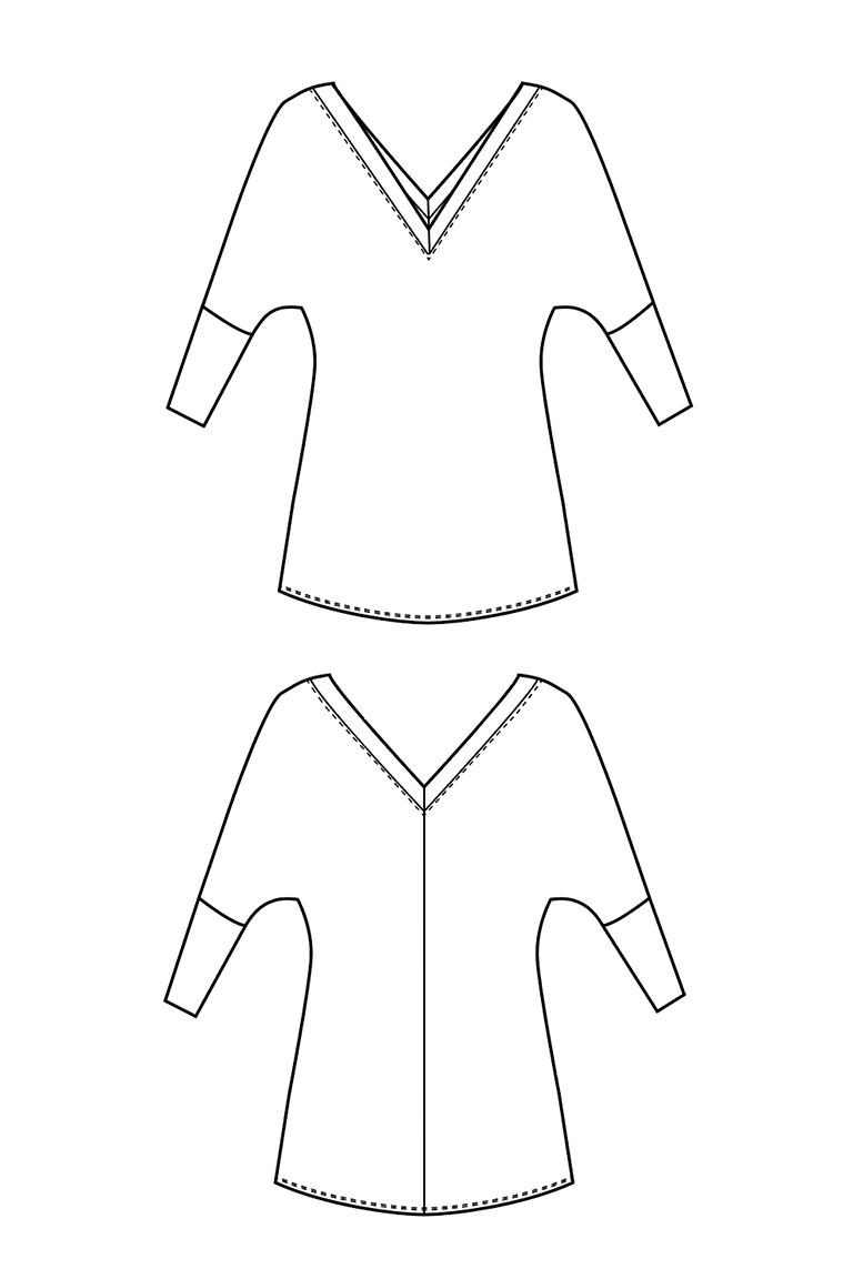 The Aberdeen sewing pattern, from Seamwork