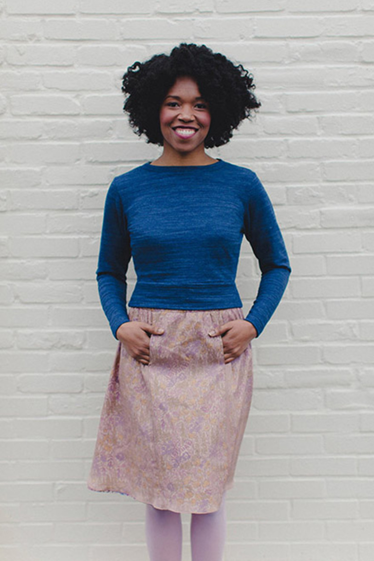 The Astoria sewing pattern, from Seamwork