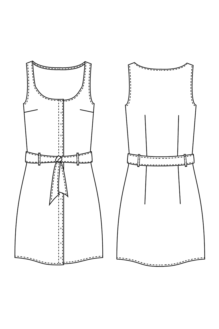 The Adelaide sewing pattern, from Seamwork