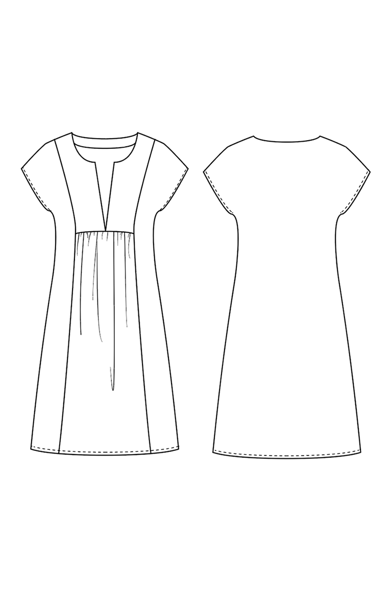 The Mojave sewing pattern, from Seamwork