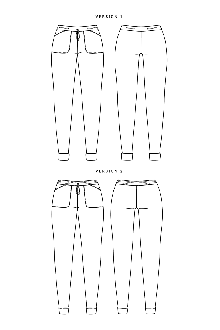 The Moji sewing pattern, from Seamwork