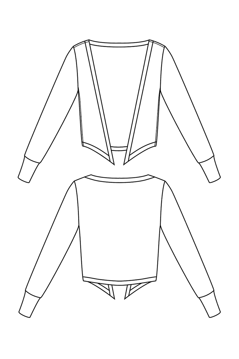 The Wembley sewing pattern, from Seamwork