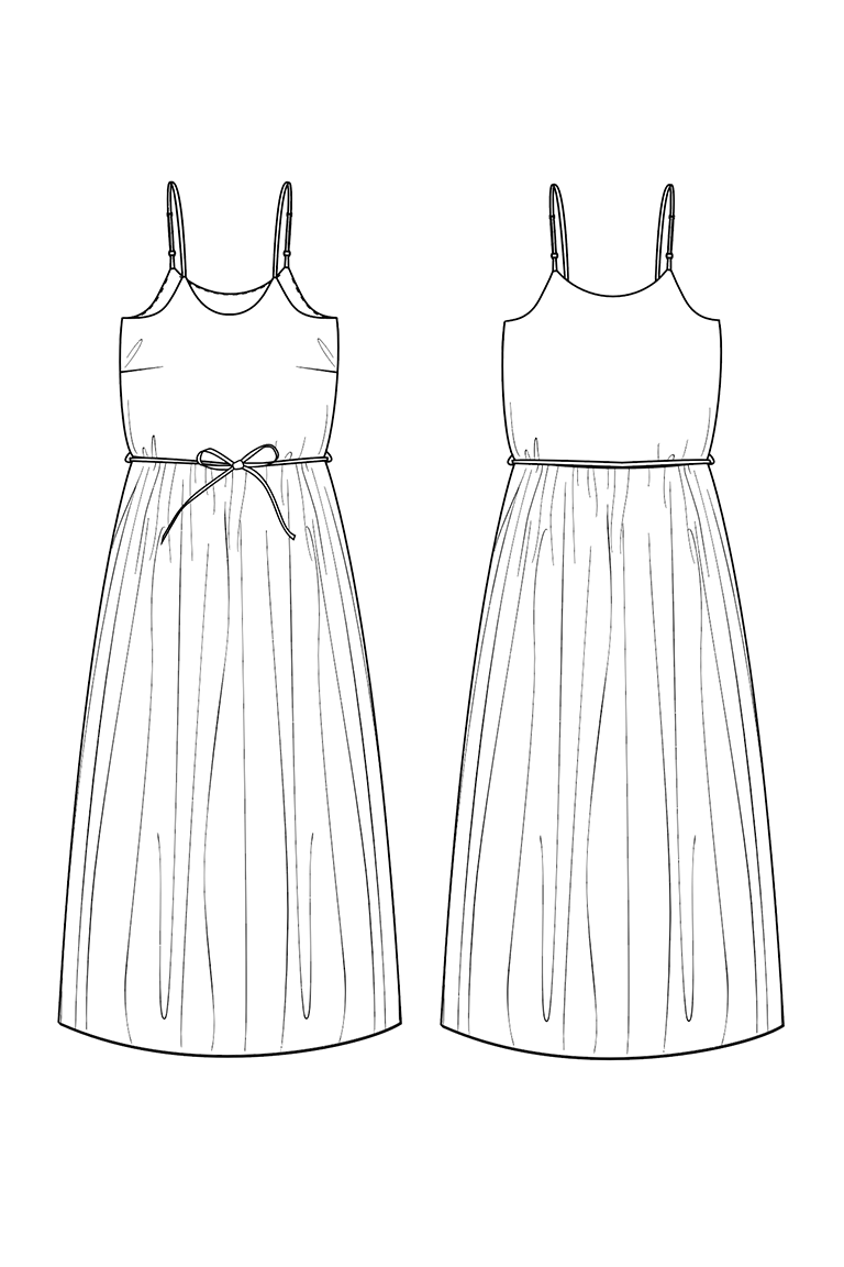 The Catarina sewing pattern, from Seamwork