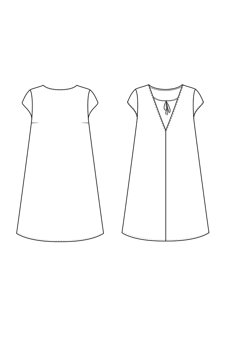 The Kenedy sewing pattern, from Seamwork