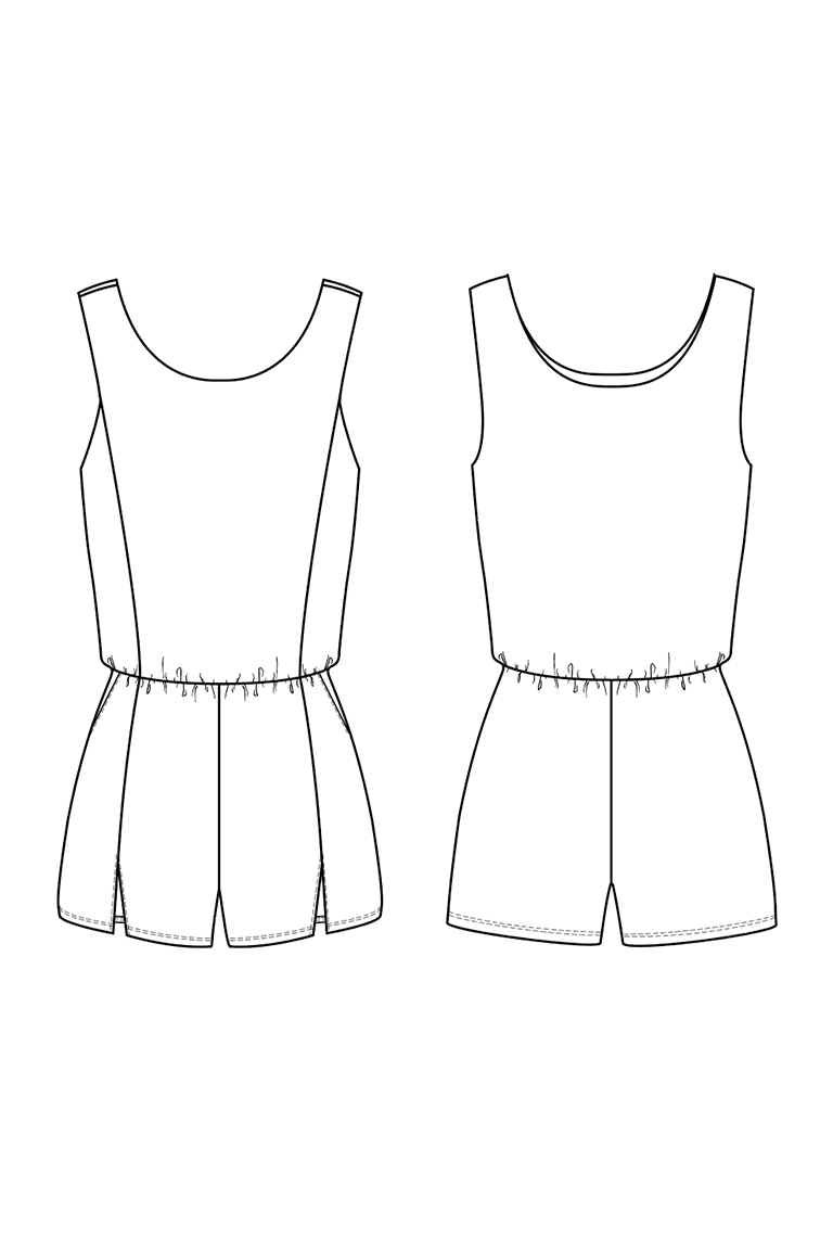 The Layton sewing pattern, from Seamwork