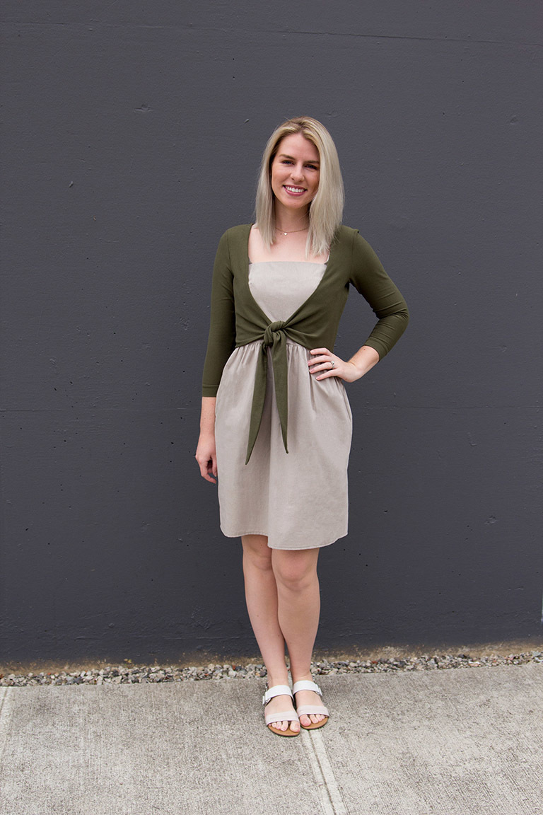 The Elmira Bonus sewing pattern, from Seamwork