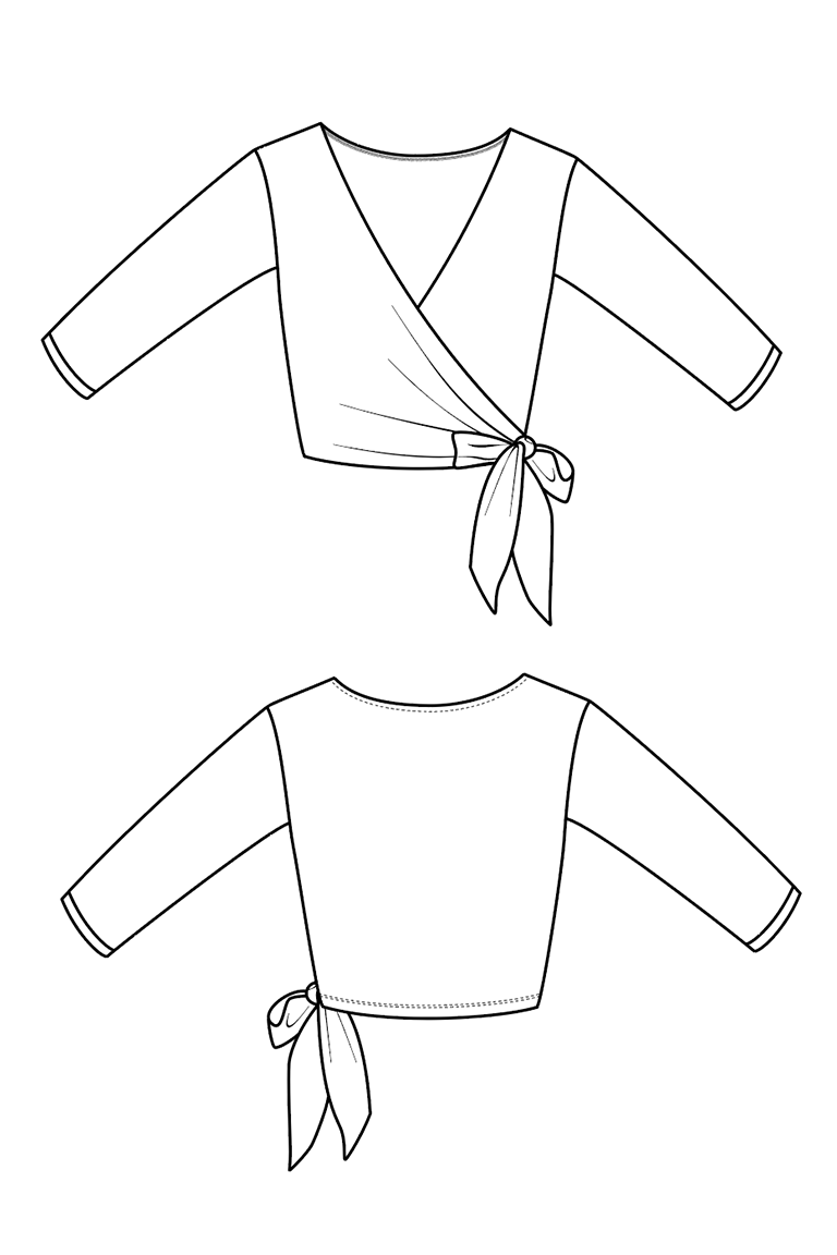 The Elmira sewing pattern, from Seamwork