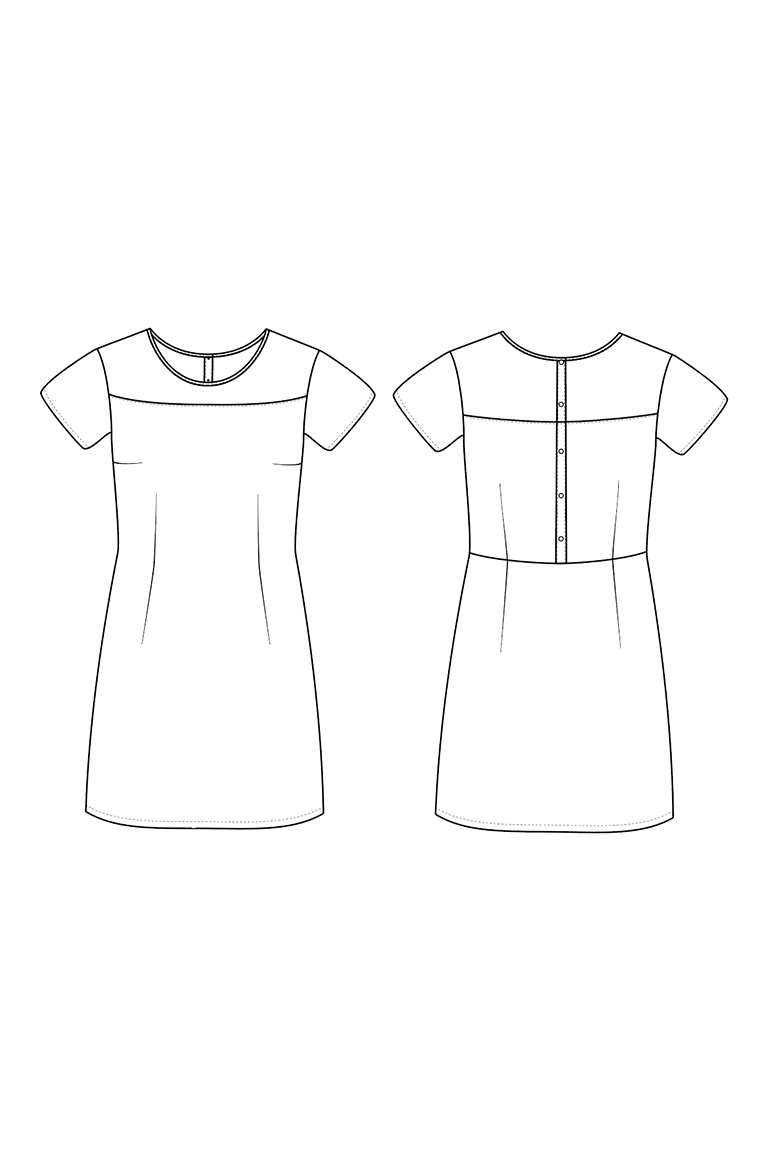 The Lynn sewing pattern, from Seamwork