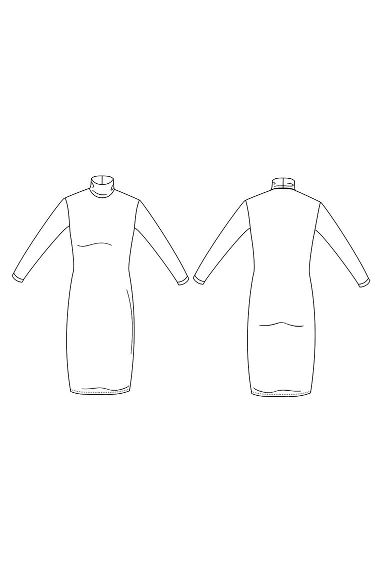 The Lenny sewing pattern, from Seamwork
