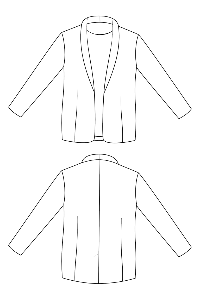 The Delavan sewing pattern, from Seamwork
