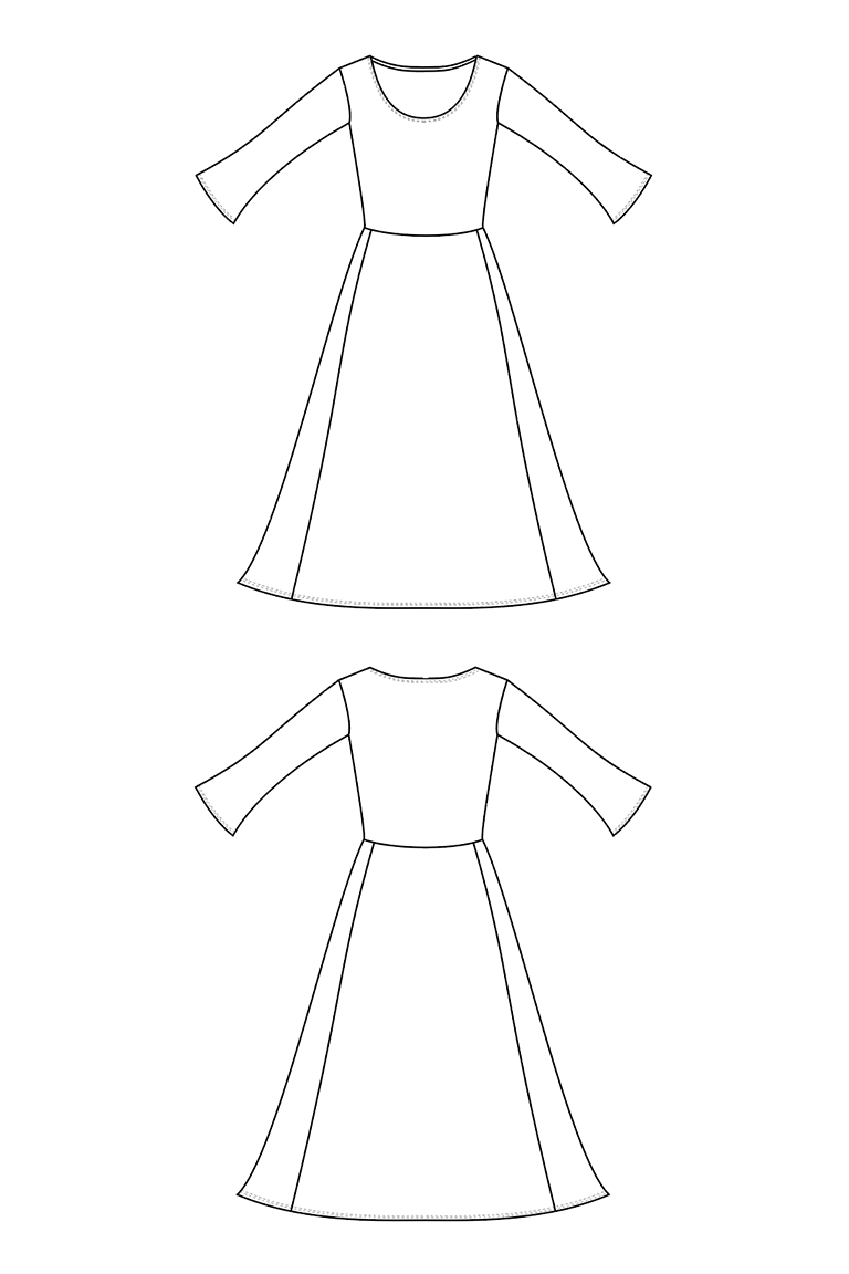 The Winona sewing pattern, from Seamwork