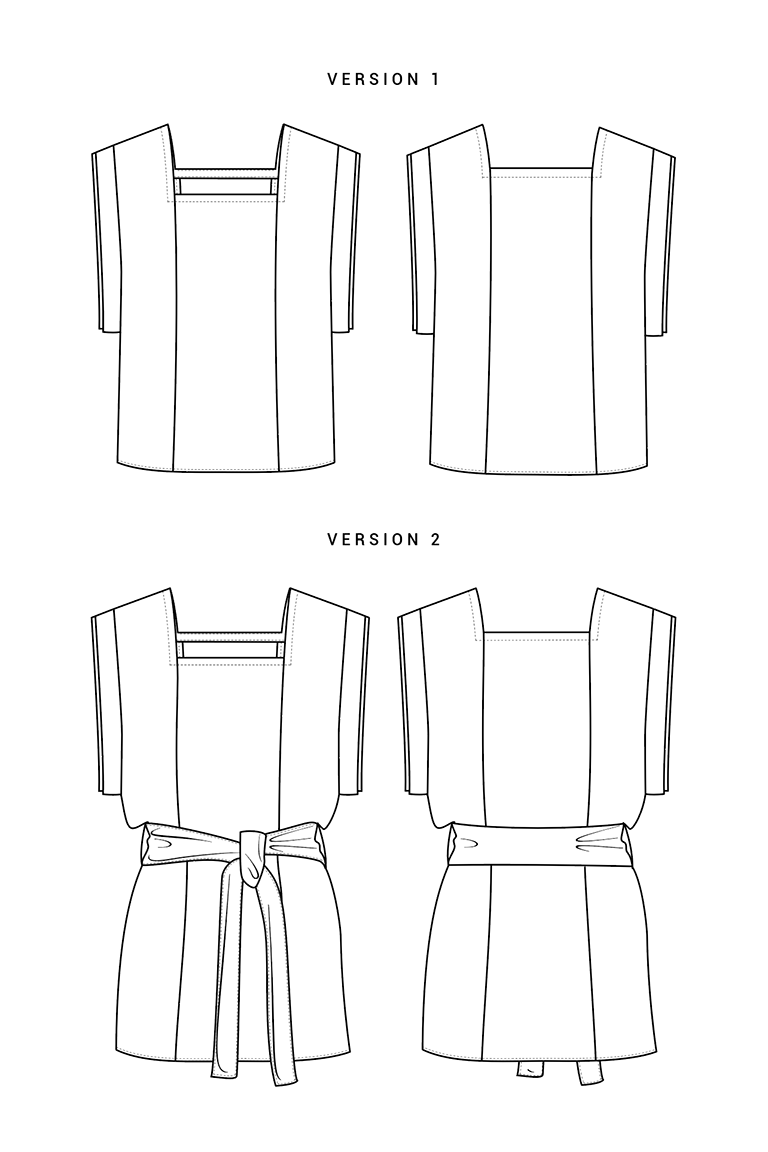 The Charlotte sewing pattern, from Seamwork