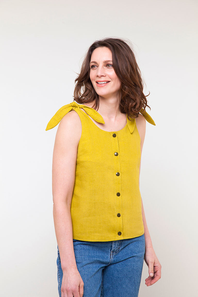 The Gretta sewing pattern, from Seamwork