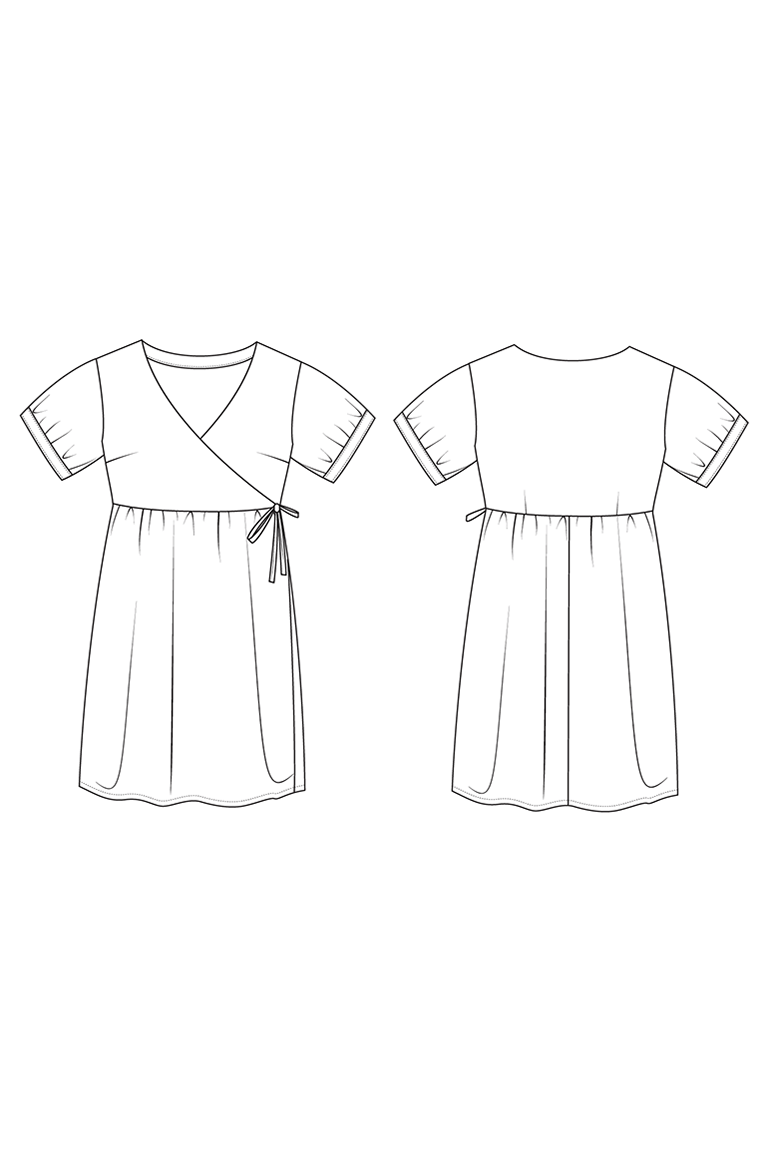 The Reggie sewing pattern, from Seamwork