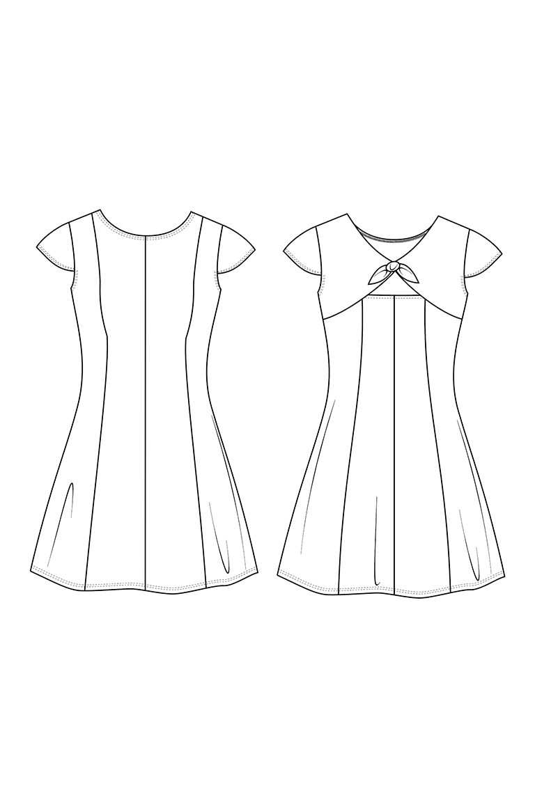 The Gabrielle sewing pattern, from Seamwork