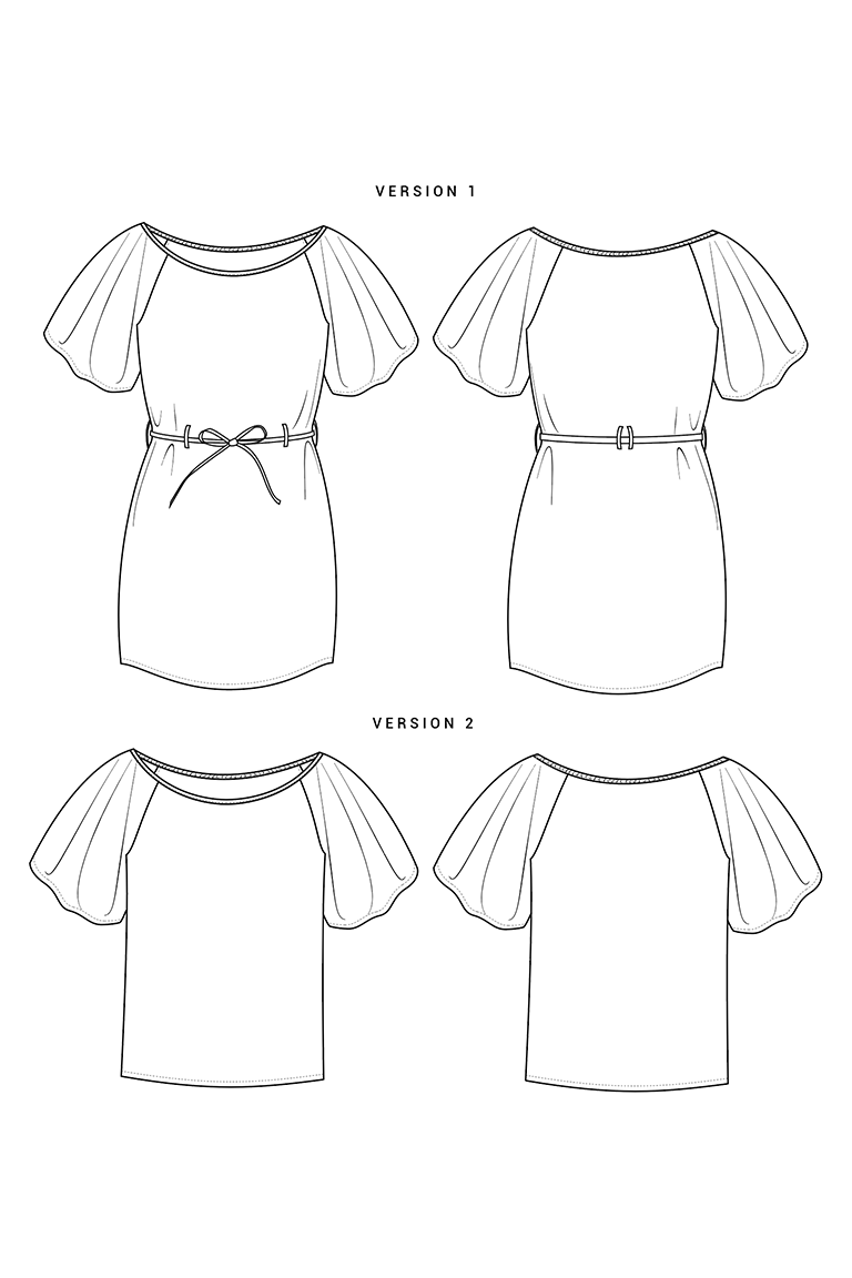 The Loretta sewing pattern, from Seamwork