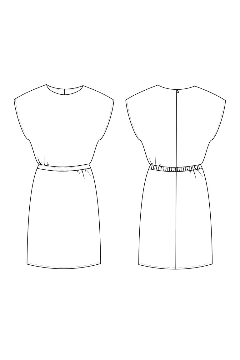 The Veronica sewing pattern, from Seamwork