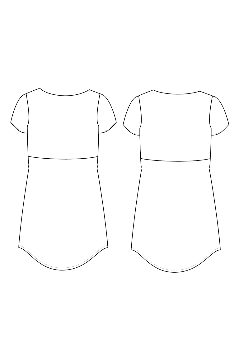 The Georgia sewing pattern, from Seamwork