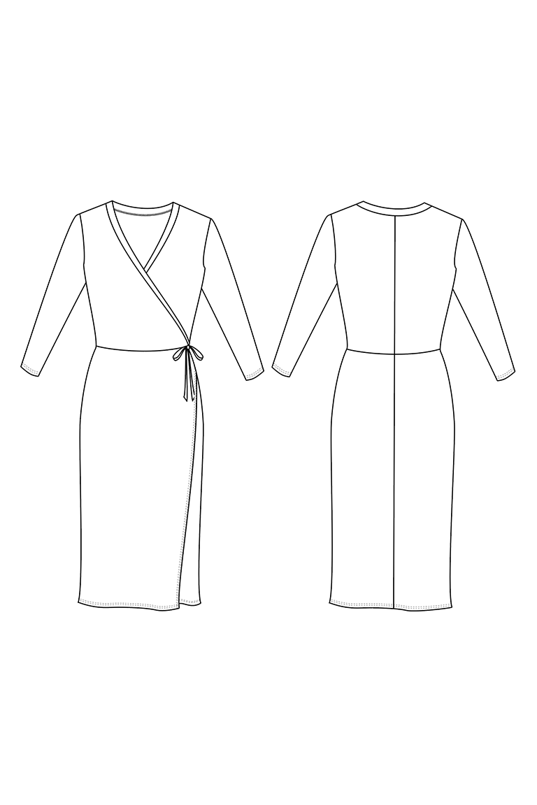 The Erica sewing pattern, from Seamwork