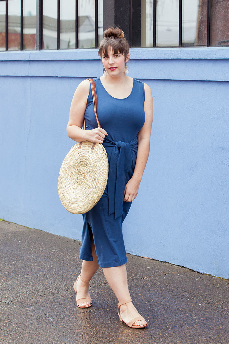 The Lane sewing pattern, from Seamwork
