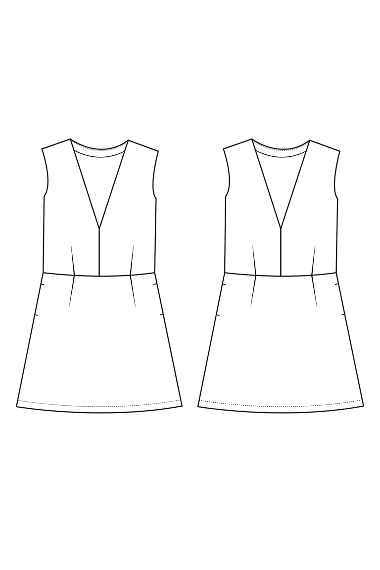 The Dani sewing pattern, from Seamwork
