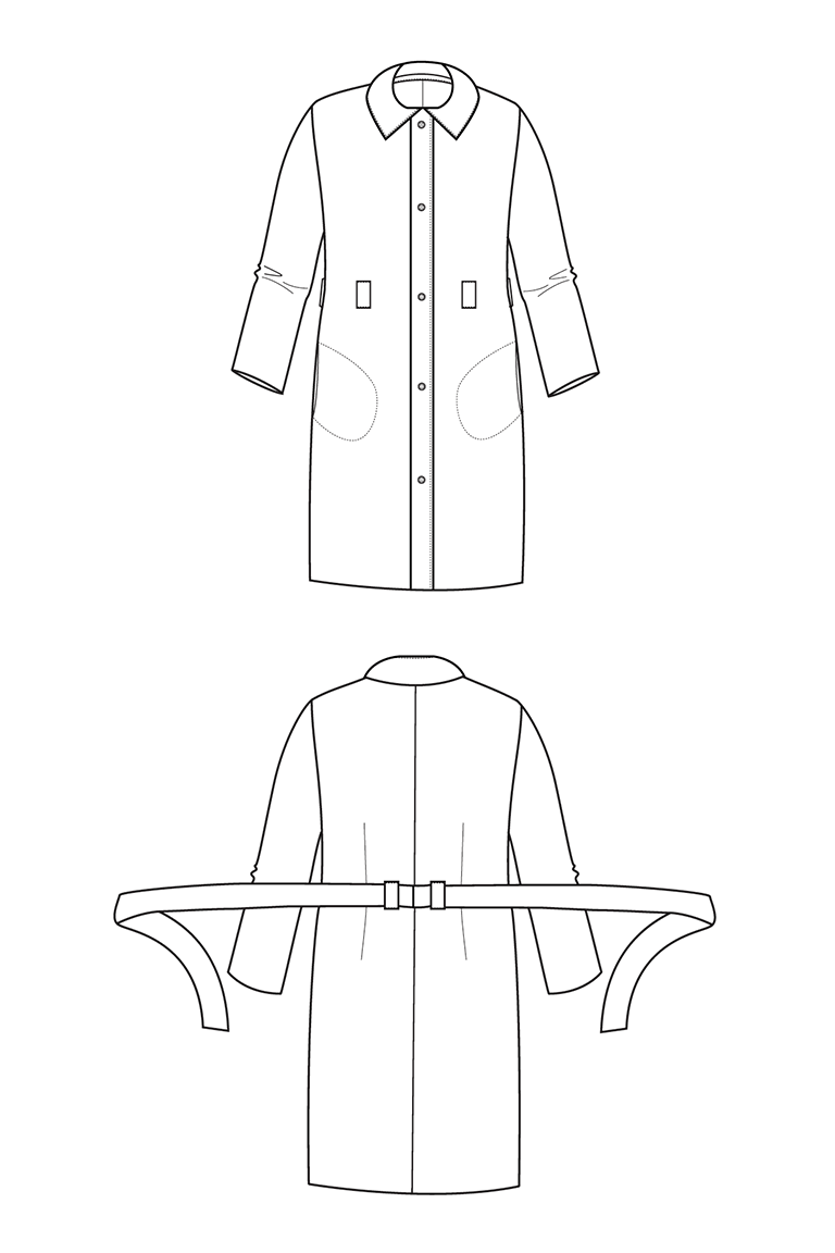 The Francis sewing pattern, from Seamwork