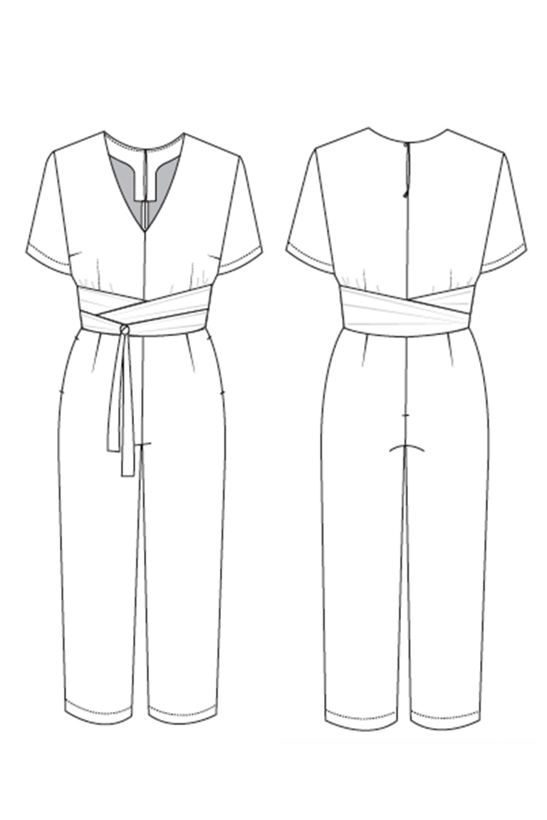 The Sky sewing pattern, from Seamwork
