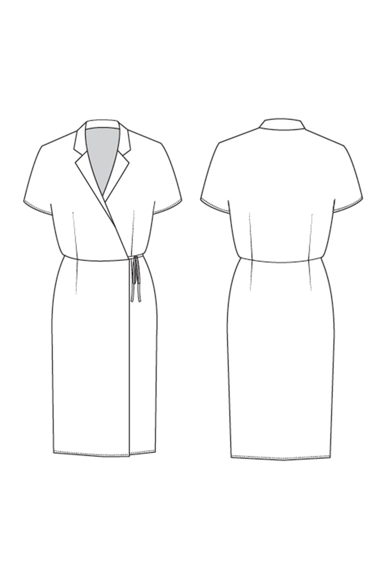 The Ruth sewing pattern, from Seamwork