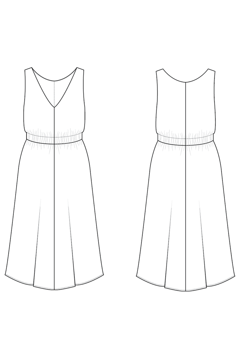The Bobby sewing pattern, from Seamwork