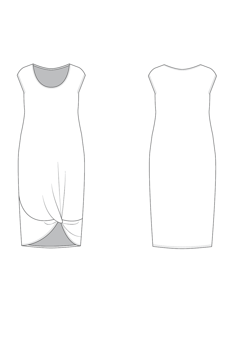 The Gene sewing pattern, from Seamwork