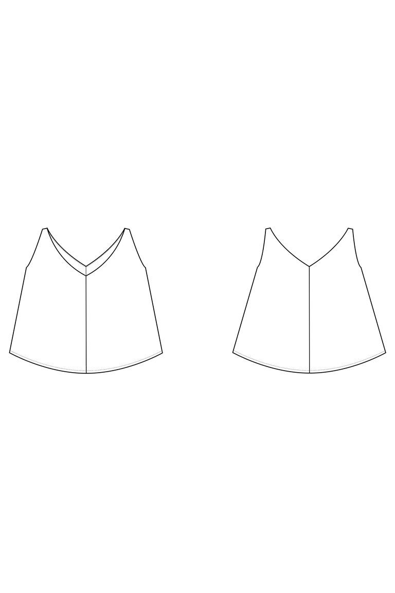 The Clarke sewing pattern, from Seamwork